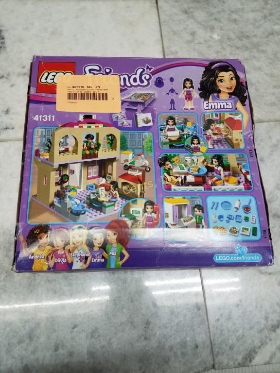 Lego Friends Heartlake Pizzeria 41311 2nd Cents Inc