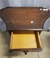 Small Vintage Telephone Table.