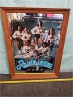 Print Mirror Of Raiderettes. Standford Art.