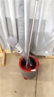Mop With Buckets And Mat