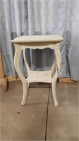 """Great Diy End Table 20"""" L X 20"""" W X 29 1/2"""" H"""