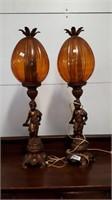 Vintage Matching Lamps