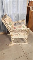 Great Chair For Your Garden. Back Of Rocker Foot