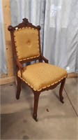 Lot Of 3 Chairs, 1 Needle Point Chair, 1 Chair