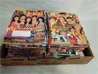 Full Box Of Teen Magazines.