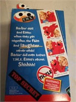 Sesame Street Barbie* In Box And Playmobil Toys.