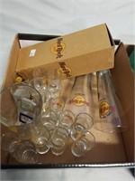 Shot Glass Lot. And Hard Rock Cafe Glasses