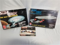 Star Trek Model Kits. One Unopened. And Tente