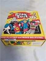 Vintage Batman Play Suit In Box.