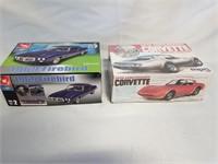 Firebird, Corvette Model Kits