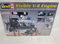 Revell - Visible V-8 Engine Model Kit.