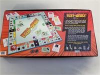 Kiss-monopoly Board Game.