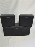 Sony Small Speakers.