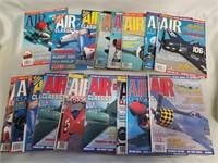 Lot Of Air Classics Magazines.
