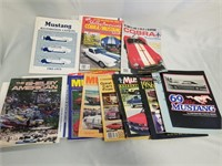 Lot Of Mustang Magazines.