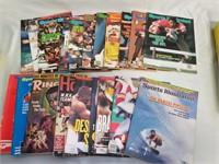 Lot Of Sports Magazines.