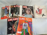 Life Magazines And Some Magazine Clippings.