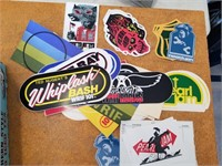 Radio Stations And Band Stickers.