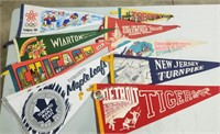 Variety Of Banners.