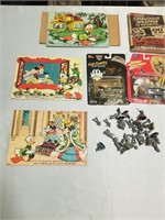 Small Toy Collectors Lot Including The Crocodile