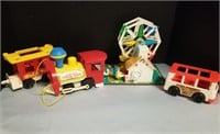 Fisher Price Toys Including Circus Train.