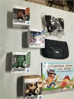 New In Boxes- Marvel Avengers Heros, Carry Pouch,