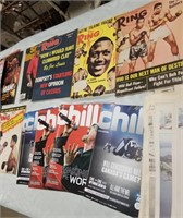 Sports Magazines- Boxing Mostly And Old News