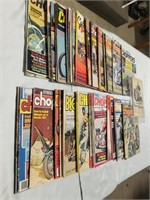 Various Old Chopper Magazines. Large Lot.