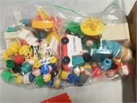 Large Lot Of Various Older Toy Sets.