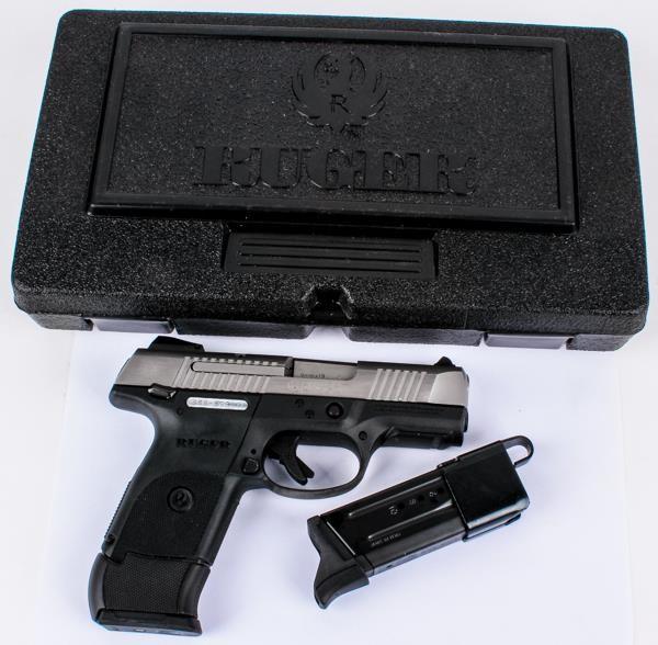 Gun Ruger SR9c in 9mm Semi Auto Pistol   AZFirearms com/Pot