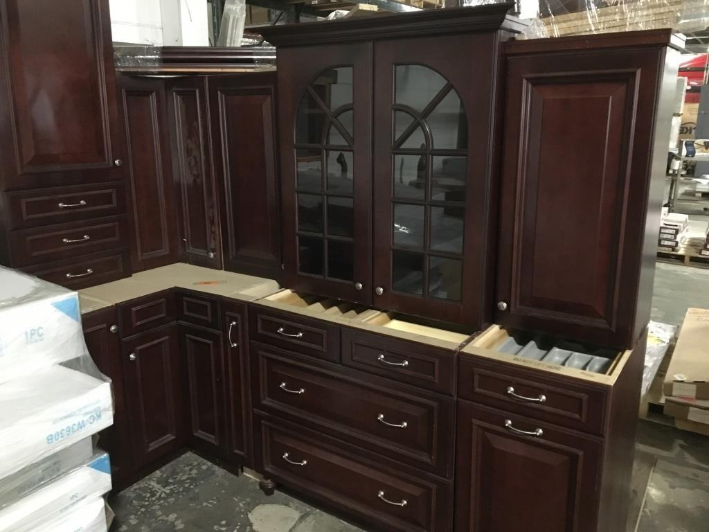Craftmaid Display Kitchen Cabinet Set | Surplus Liquidators LLC