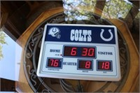 Colts Wall Clock