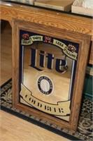 Lite Beer Advertising Wall Mirror