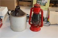Lantern & Crock