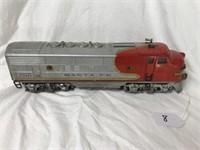 Lionel Train Engine #2343 Sante Fe