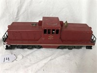 Lionel Train Diesel Switcher #627 Plastic Top