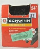 "Schwinn Mountain Bike 24"" Tire"