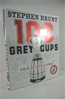 Hard Cover CFL 100 Grey Cups Book