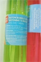 Lot of 6 Bubble Wands - Assorted Colours