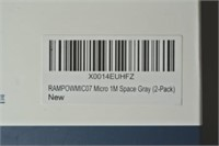 Rampow Micro USB Cable - 2 Pack (1 Meter Long)