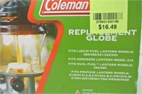 Coleman Replacement Lantern Globe