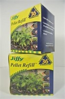 Jiffy Plant Peat Pellets - 2 Packages