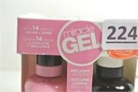Miracle Gel Nail Colour Set