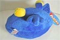 "Angry Bird Collegiate Plush ""KU"" Plush"