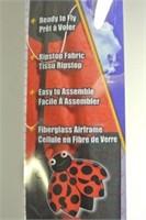 "Nylon Ladybug 30"" Kite"