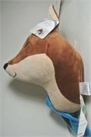 Plush Wall Décor Fox Head