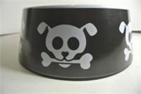 Skull & Crossbones 4.5 Cup Dog Bowl