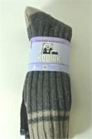 Ladies 2Pk Kodiak Size 4-10 Thermal Socks
