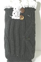 Pair of Knit Boot Cuffs