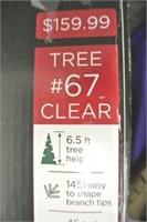 6.5 foot McKinley Pine Christmas Tree